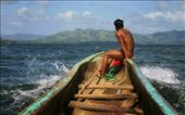 An Embera man heads off for another day at work: by svenedquist, Views[406]
