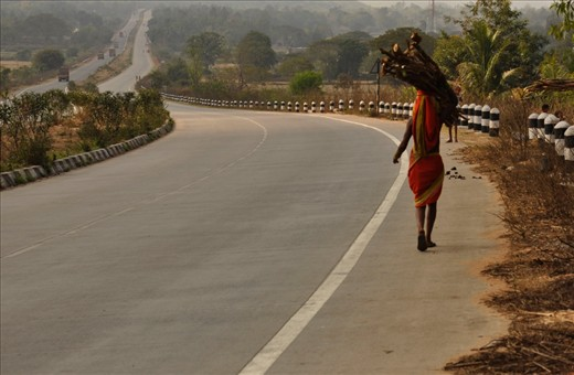 The woman of that area, go far away from their house to collect fuels from the forest...