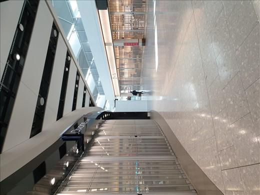 Empty Heathrow