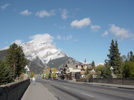 banff - real nice town