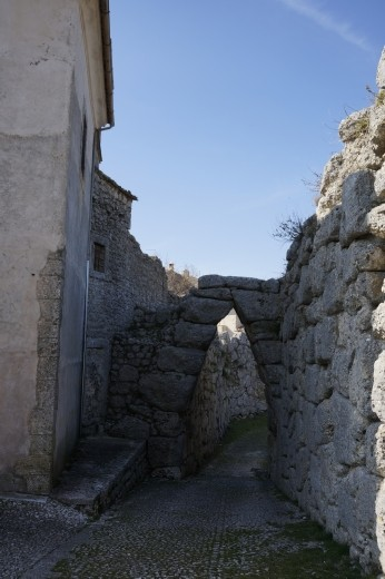 Old arch in Arpino
