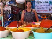 Curry lady at the Klong Market: by swissmis23, Views[54]
