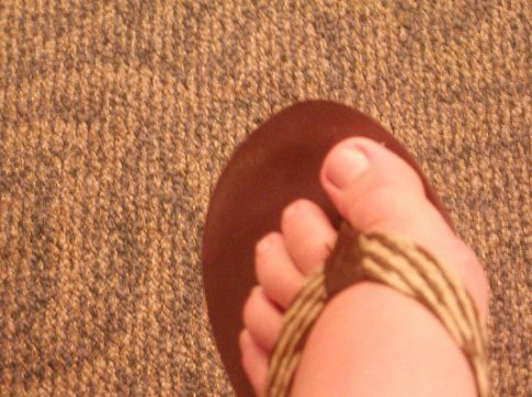My little asian toes.