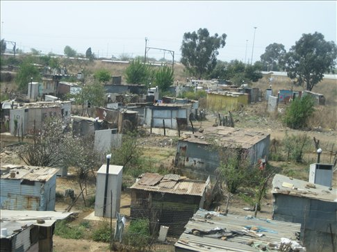 Yet another informal settlement in Soweto