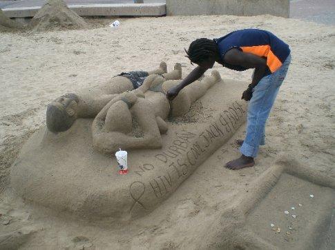 Sand Sculpture Artist in Durban