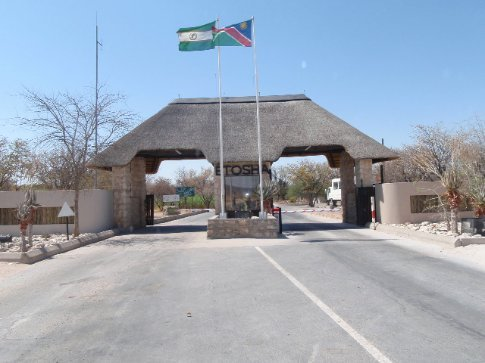Entrance to Etosha
