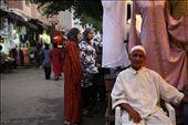 An old man selling textiles.: by szymczykeva, Views[127]