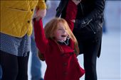 A girl in rapture; caught by her elders, just as she was about to fall while skating in Hyde Park's Winter Wonderland.: by taletellerinlondon, Views[304]