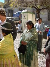 Baptism- the lady in green shawl is Tomasa (our Bolivian mother!)- one of the carers at the centres.: by tammyrenwick, Views[263]