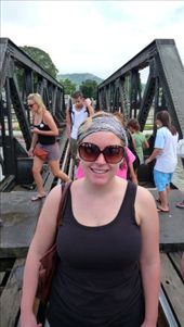 Kanchanaburi is where the Bridge over the River Kwai is. We took an over night trip there and went on the death river railway. It was amazing: by tara_and_mike, Views[134]