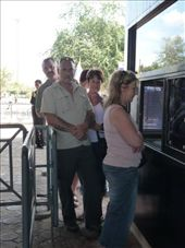 Tassie crew lining up for a visa to Laos - a very short trip to Laos: by tara_and_mike, Views[76]
