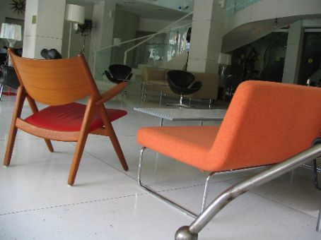 More designer furniture then you can throw an Eames chair at