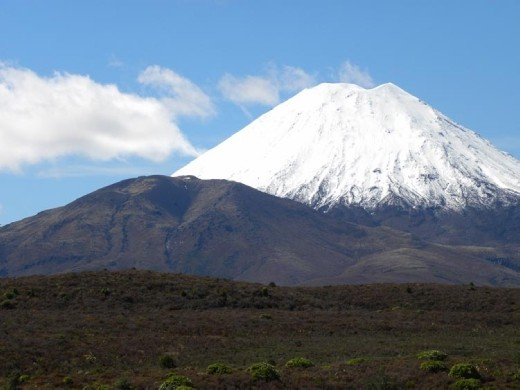 Mount Doom. It's easy to see Frodo and Sam slogging up the slopes to destroy The Ring.