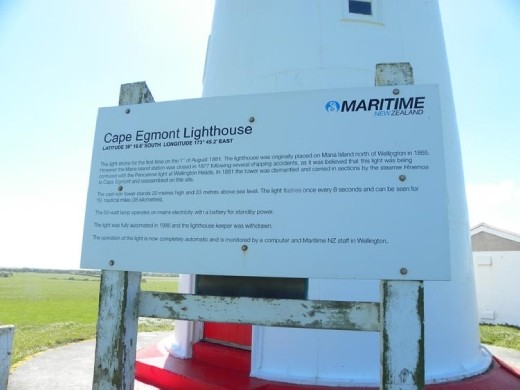 We can find all these lighthouses, but you can't go inside. None of them are manned anymore.