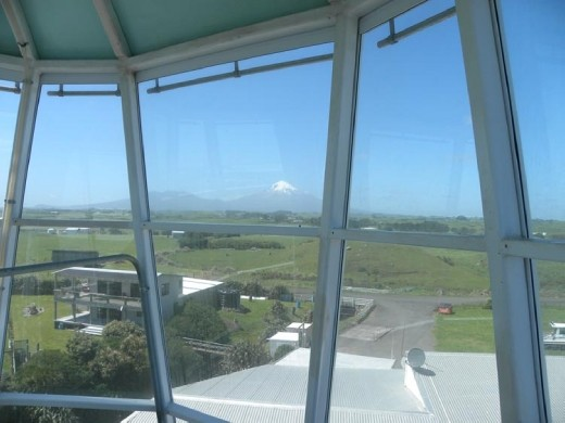 And a view of Mt Taranaki. It's EVERYWHERE!
