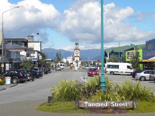 Hokitika is much busier during the summer months. It can be cold and dreary during the winter!