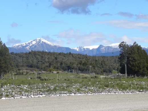 You can see the Southern Alps from here!