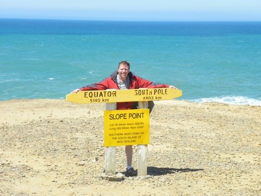 We made it to South Point! Now we've been to the northern most point on the North Island and the southern most point on the South Island! Woo-Hoo!