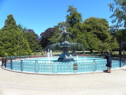The Botanical Gardens in Christchurch.