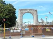 Cathedral Square is near. This is the Bridge of Remembrance.: by taylortreks, Views[101]