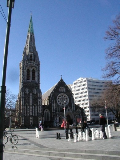 This was Cathedral Square in 2005. It is heartbreaking to see the square now.