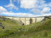 The rock on the right hand side of the dam made a great vantage point for photos of the dam.: by taylortreks, Views[122]