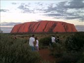 What a difference 30 minutes makes. When the sun starts setting, you can see the eons carved on Uluru.: by taylortreks, Views[61]