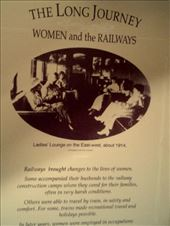The Women and the Railways exhibit described many colourful characters on the lines.: by taylortreks, Views[94]