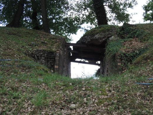 Although the original amphitheater was mostly intact, structural support was needed in places.