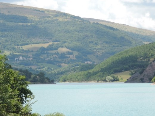 On the northern edge of the park is Lake Fiastra, a favorite recreation area for the locals.