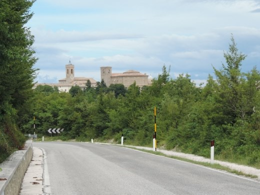 The Cingoli was a bit surprising as it perched at the top of a steep hillside. It made our list of