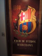 This wonderful poster commemorates Barcelona's Golden Anniversary as a football club.: by taylortreks, Views[40]