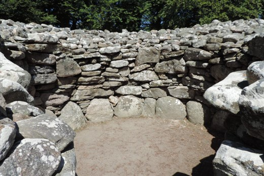 The Cairns are prehistoric structures, perhaps for religious use or just dwellin