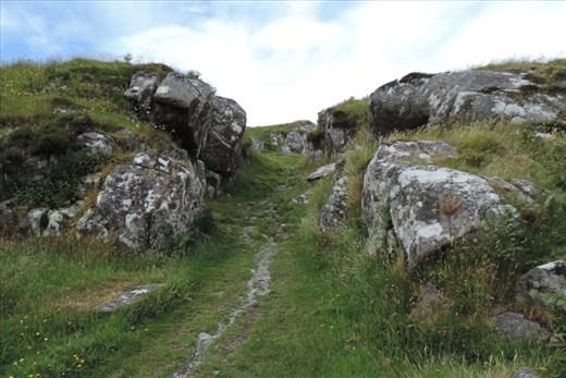 Climbing-Up-Through-Protective-Gateway