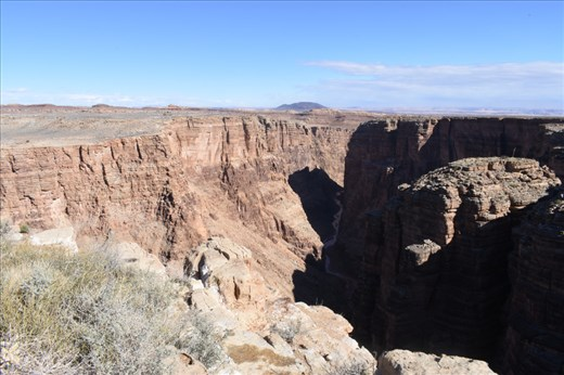 We opened our visit with a stop at the Little Colorado River Gorge.