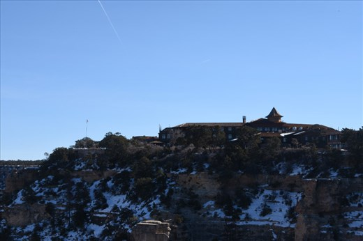 The majestic El Tovar Lodge dominated the South Rim. We HIGHLY encourage you to stay here as you explore this side of the Canyon.