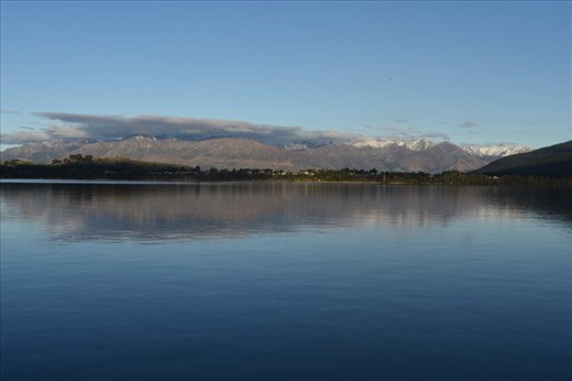 A picturesque panorama above Manpouri greeted us as we returned to the harbour.