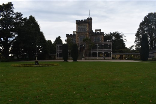 Larnach Castle is more of a manor house rather than an actual castle.