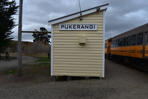 Given the short autumnal days, our train turned around in Pukerangi rather than making the full trip to Middlemarch.
