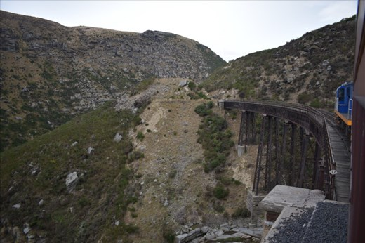 Interestingly, several viaducts are curved to the the track route.