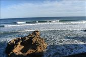 The afternoon breeze whipped spray off the 2nd wave as it continued to break.: by taylortreks, Views[9]