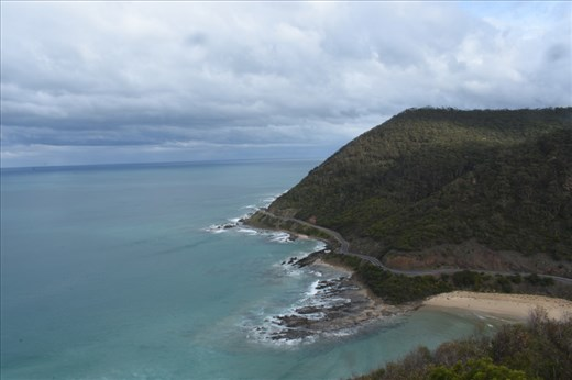 There's the Road itself, hugging the coastline as it does for much of its length.