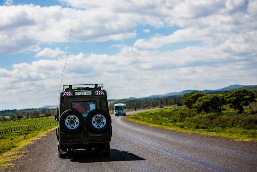 Our trusty safari truck that took us everywhere, from the city centre in Nairobi, all the way to the Ngorongoro Crater in Tanzania