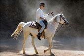 Justin Bieber riding a horse in the hills, escaping the pressure of Hollywood.: by tbclla, Views[74]