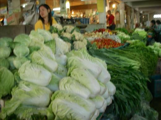 lots of veggies