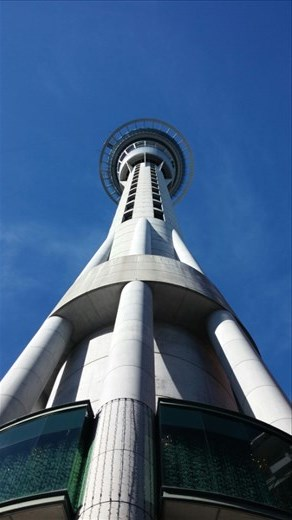 Highest point in auckland, skytower