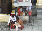 Drinks stall with plastic chairs for comfort, Hoi An: by terrihorner, Views[146]