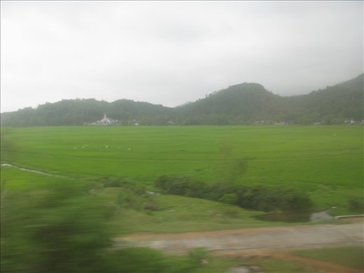 One of the best views from the Reunification Express - between Danang and Hue