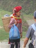 The traditional backpack and the blue plastic bag: by terrihorner, Views[213]