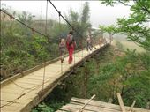 Another bridge on the way from Cat Cat back to Sapa - the loop circuit: by terrihorner, Views[108]